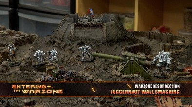Entering The Warzone - Juggernaut Wall Smashing