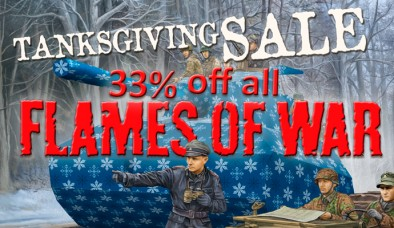 Flames Of War Thanksgiving Sale