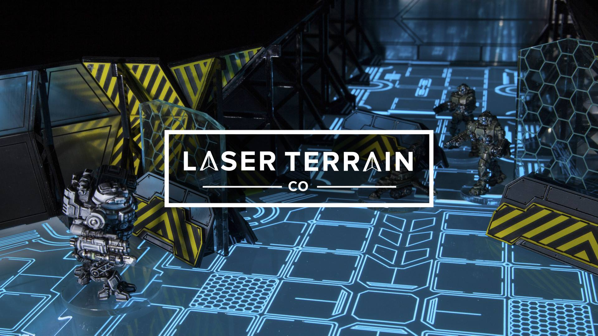 Light Up Your Sci-Fi Game With Kickstarter From Laser Terrain Co