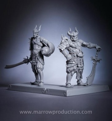 MP silver&gold unpainted