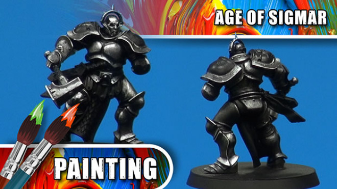 3 Colours Up – How To Paint A Steel Stormcast Eternal