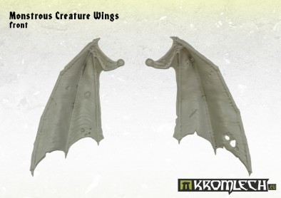 Monstrous Creature Wings (Front)