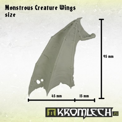 Monstrous Creature Wings (Scale)