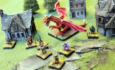 Old English Dragon Attacks