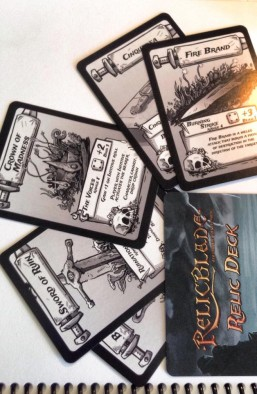 Relicblade Cards
