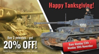 Tankgiving Sale