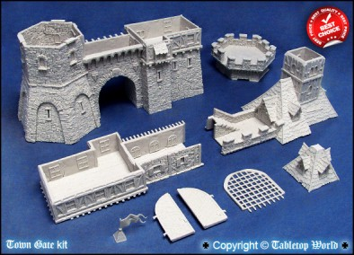 Town Gate Components