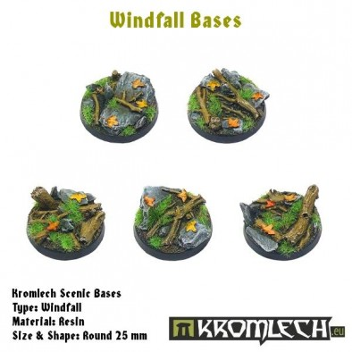Windfall Bases 25mm