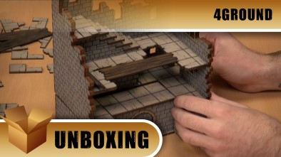Unboxing: 4Ground's The Blasted Tower