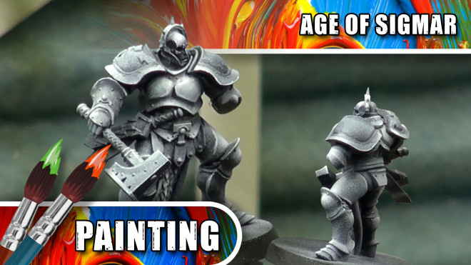 3 Colours Up – How To Paint a NMM Silver Stormcast Eternal