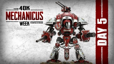 40K Mechanicus Week Day 5 Forging Alliances