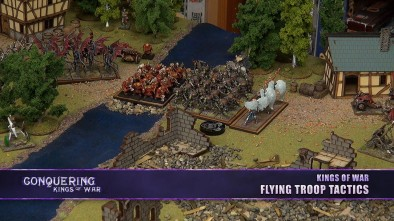Conquering Kings of War - Flying Troop Tactics
