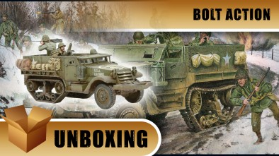 Unboxing: Bolt Action's M21 Mortar Carrier Half-Track