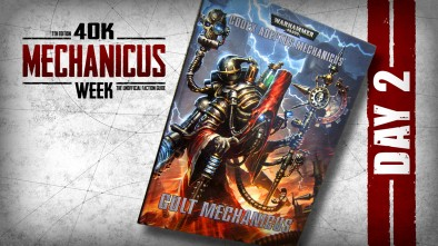 Mechanicus Week Day 2 Boots On The Ground