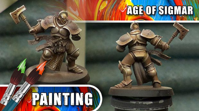 3 Colours Up – How To Paint A NMM Copper Stormcast Eternal