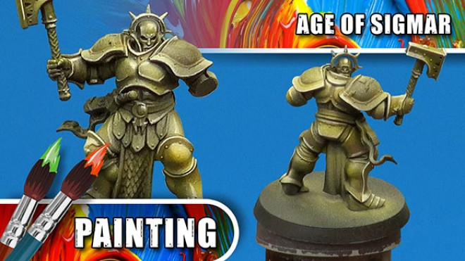 3 Colours Up – How To Paint A NMM Gold Stormcast Eternal