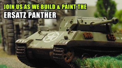 P-VLOG: Ersatz Panther - From Parts To Painted