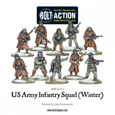 US Army Infantry Squad (Models)