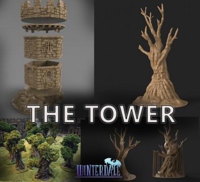 Winterdale the tower
