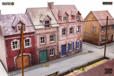 28mm Houses