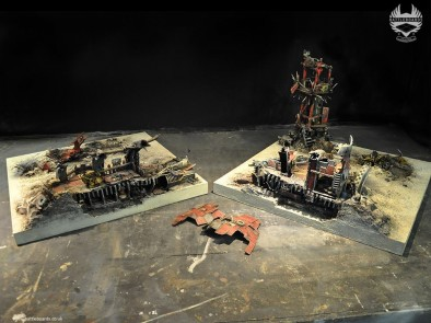 Battleboards orc table seperated