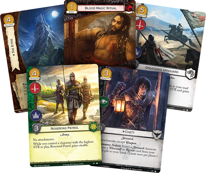 Delve Into Dothraki Blood Magic With A Game Of Thrones The Card Game Ontabletop Home Of Beasts Of War