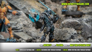 Game: Infinity Army: Yu Jing Model(s): Hac Tao Special Unit