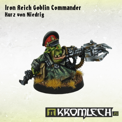 Iron Reich Goblin Commander