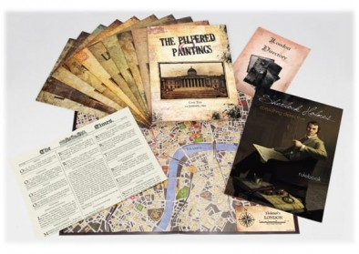 Sherlock Holmes Consulting Detective Components