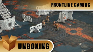 Unboxing Frontline Gaming FAT MAT Industrial Zone