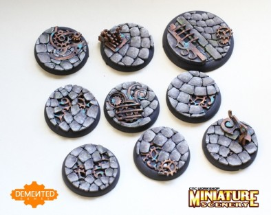 DG twisted bases
