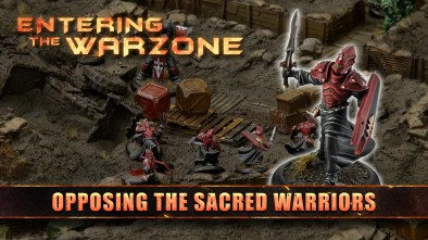 Entering The Warzone: Opposing The Sacred Warriors