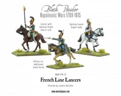 French Line Lancer (options)