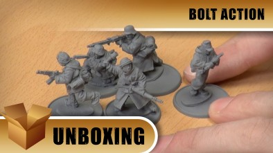 Unboxing: Bolt Action - German Grenadiers Winter Squad