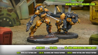 Game: Infinity Army: Yu Jing Model(s): Sù-Jiàn Immediate Action Unit