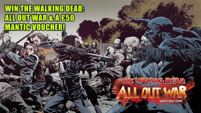 Let's Play Mantic Games' The Walking Dead: All Out War