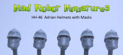 MR adrian heads with masks