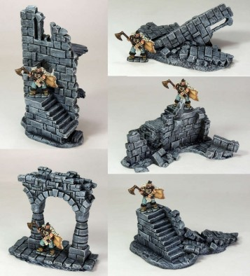 Ruined Battlements Pack