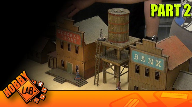 Hobby Lab: Old Timey Western Water Tower Part 2