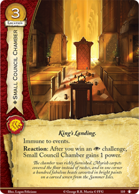 Small Council Chamber