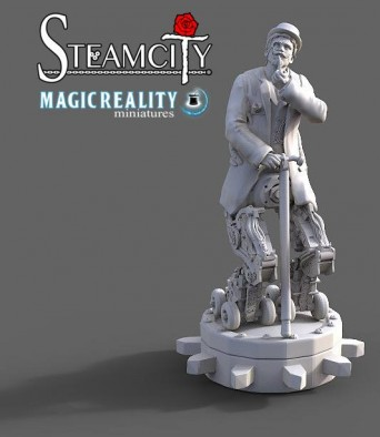 Steamcity Miniature #1