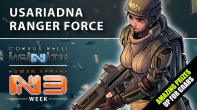 Infinity: Human Sphere N3 Week - New Sectorial Army (USAriadna Ranger Force)