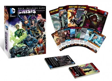 DC Deck Building Game Crisis Expansion 3