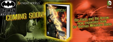 Flash and Arrow Expansion Book