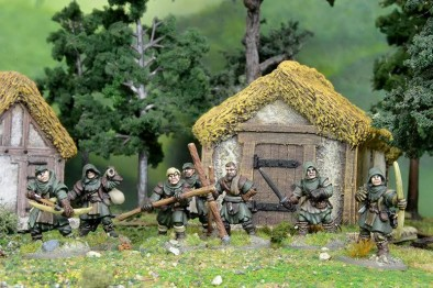 Forest Outlaws Painted