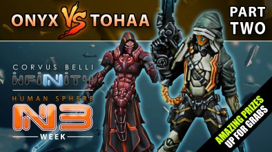 Infinity Battle Report Onyx Vs Tohaa Part Two