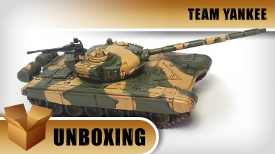 Unboxing: Team Yankee: T-72 Tanks