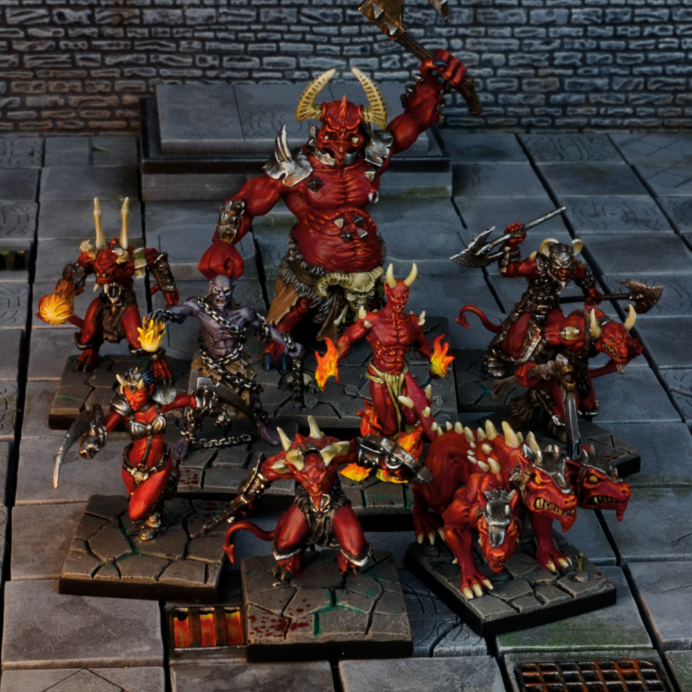 Mantic Games Dungeon Saga Denizens of The Abyss MGDS18