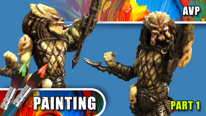 3 Colours Up: Painting A Predator – Part One