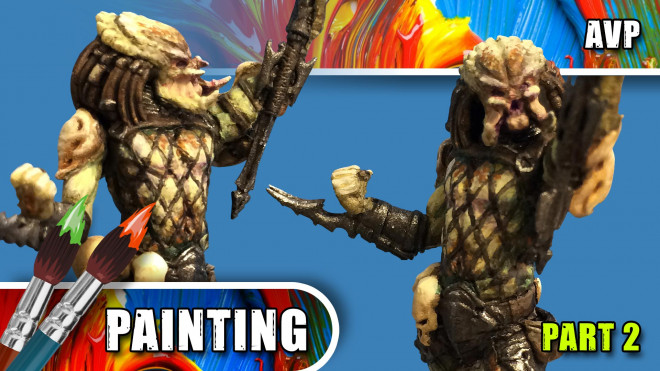 3 Colours Up: Painting A Predator – Part Two